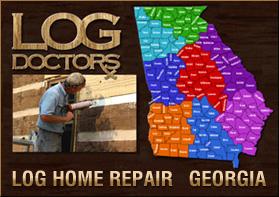 Georgia Log Home Repair